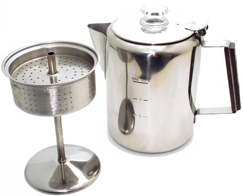 How To Use Non Electric Coffee Maker : Basic Problems With Percolator Coffee The Coffee Tongue