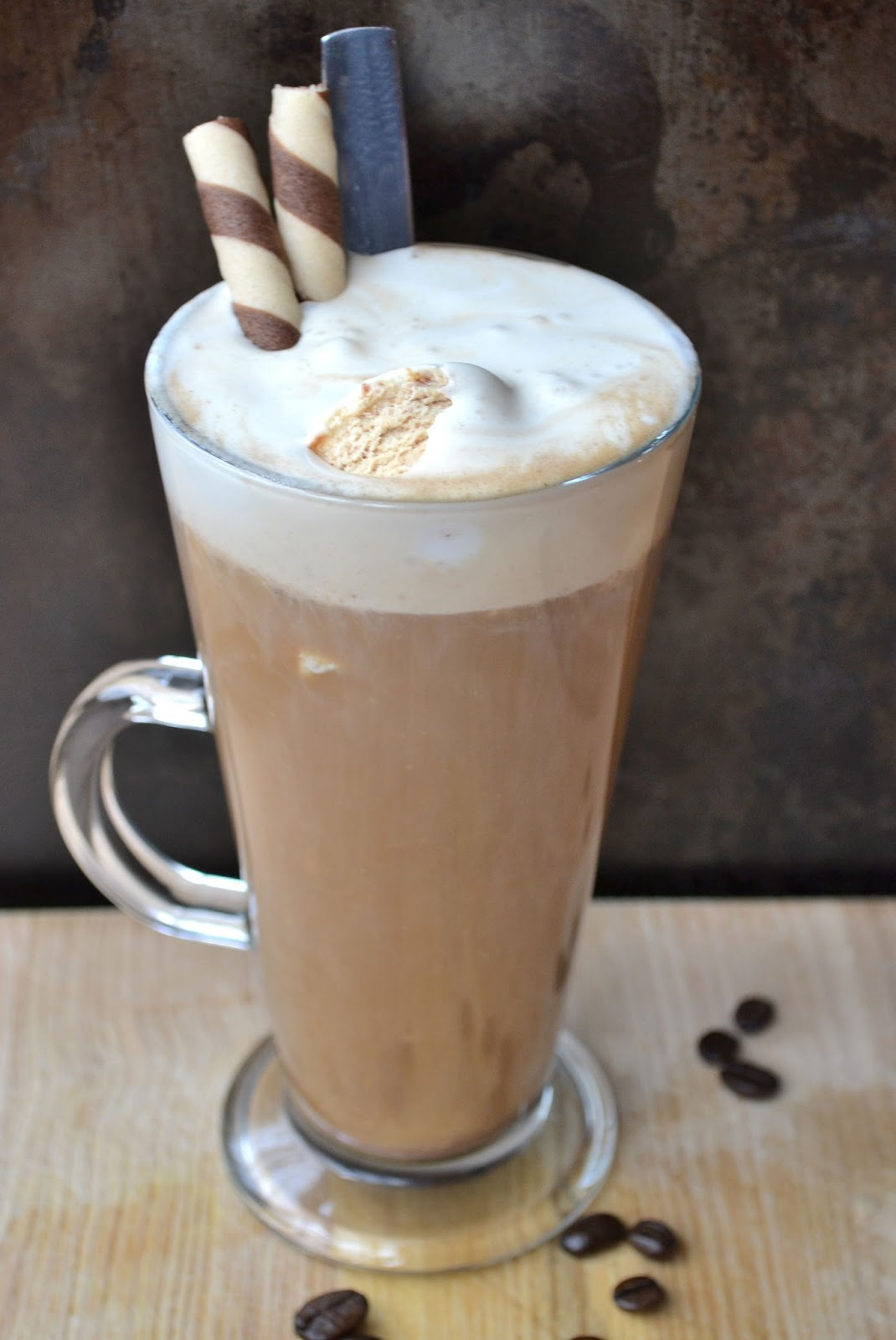 how to make cream float on coffee